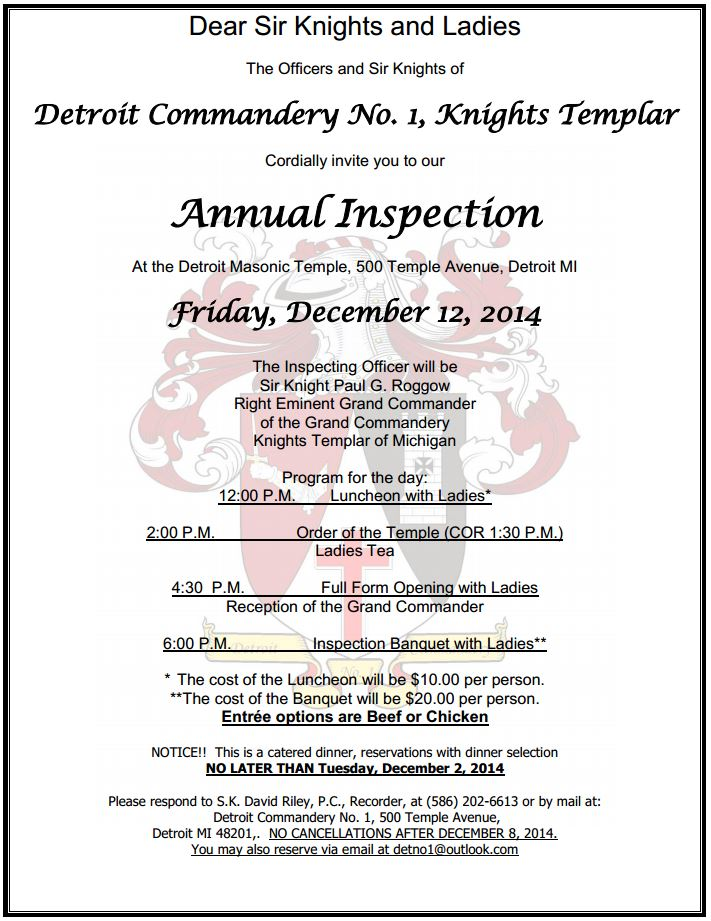 Detroit No.1 - Annual Inspection @ Detroit | Michigan | United States
