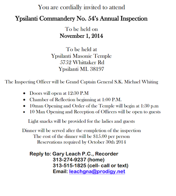 Ypsilanti No.54 - Annual Inspection @ Ypsilanti | Michigan | United States