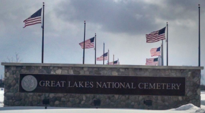 EASTER SUNRISE SERVICE - Central Michigan Battalion @ GREAT LAKES NATIONAL CEMETERY   Holly   Michigan   United States
