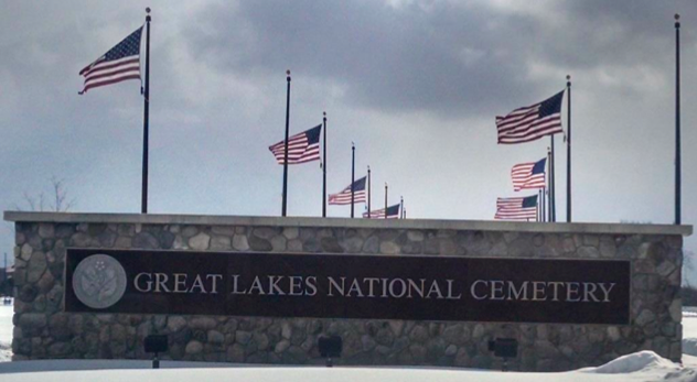 Easter Sunrise service, Great Lakes National Cemetery @ Great Lakes National Cemetery