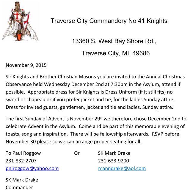 Christmas Observance - Traverse City No.41 @ Traverse City | Michigan | United States