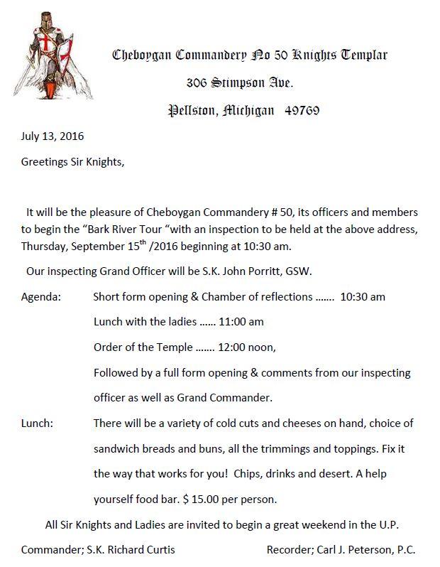 Annual Inspection - Cheboygan No.50